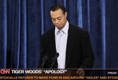 Why Tiger Woods' apology was not as good as his golf game