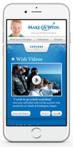wish.org mobile website
